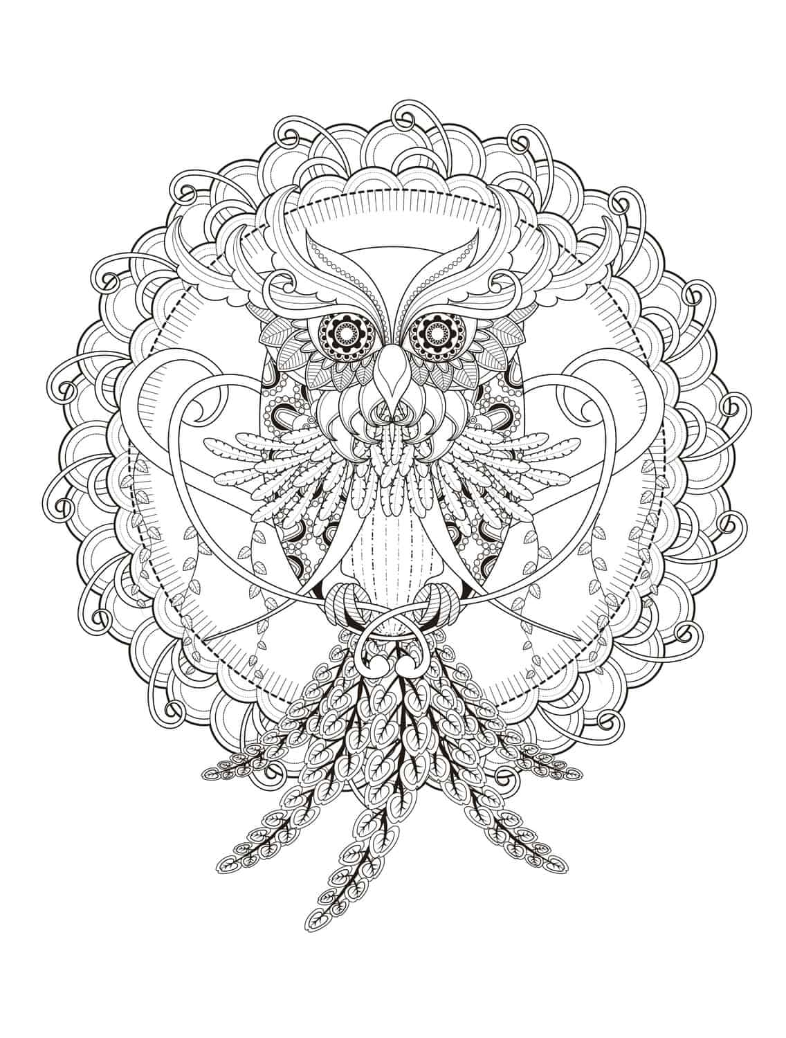 1000 Images About Colouring Pages On Pinterest Adult Coloring Pages Of Owls For Adults