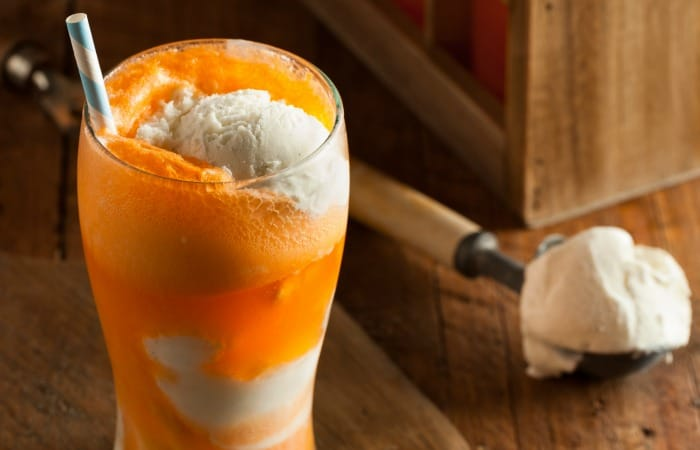 how to make an orange creamsicle float without milk feature