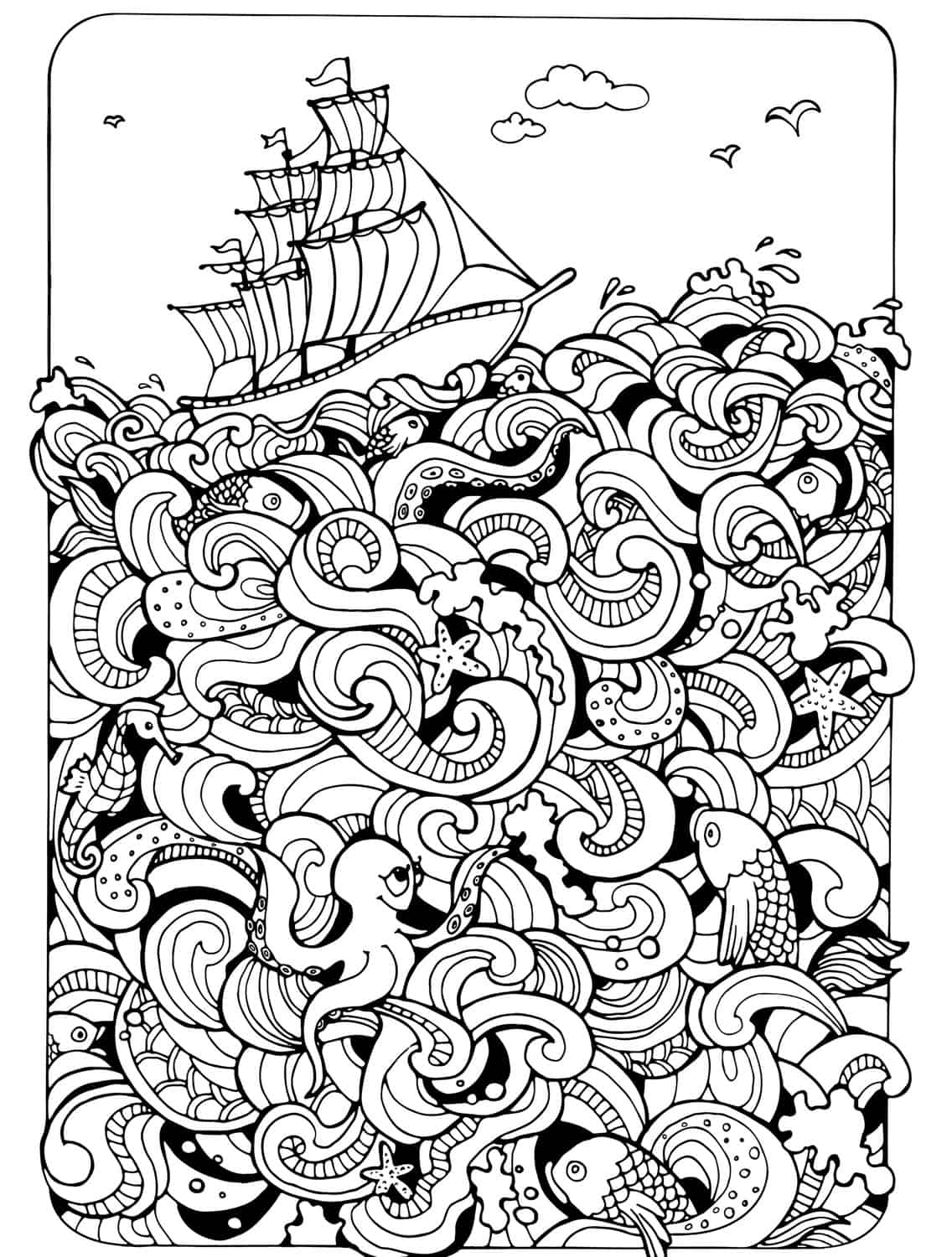 1000 images about colouring pages on pinterest coloring for Adult color page