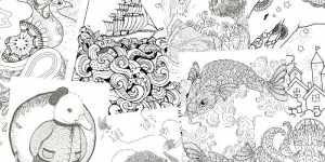 funny adult coloring pages free downloadable feature