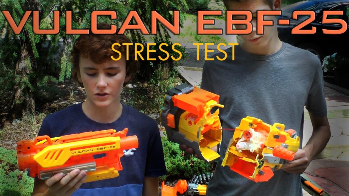 Vulcan EBF-25 Stress Test