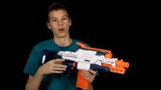 Nerf Elite Cam ECS-12 Review and Battle Test