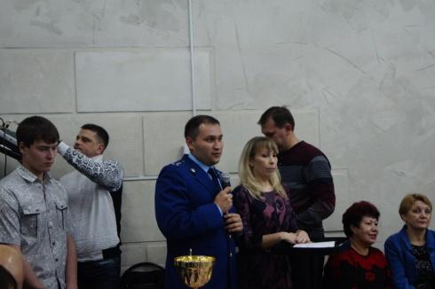 Дмитрий Насреддинов: на подобных мероприятиях мы агитируем родителей приводить детей в спортивные клубы