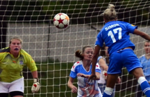 Breakers striker Kyah Simon struck three times in Wednesday's 4-2 win over the Mutiny at Dilboy Stadium. (Photo: Boston Breakers)