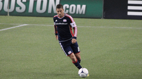 Tierney signed an extension with the Revolution on Monday. (Photo: Kari Heistad/capturedimages.biz)