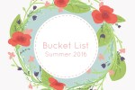 summer bucket list 2016 feature photo