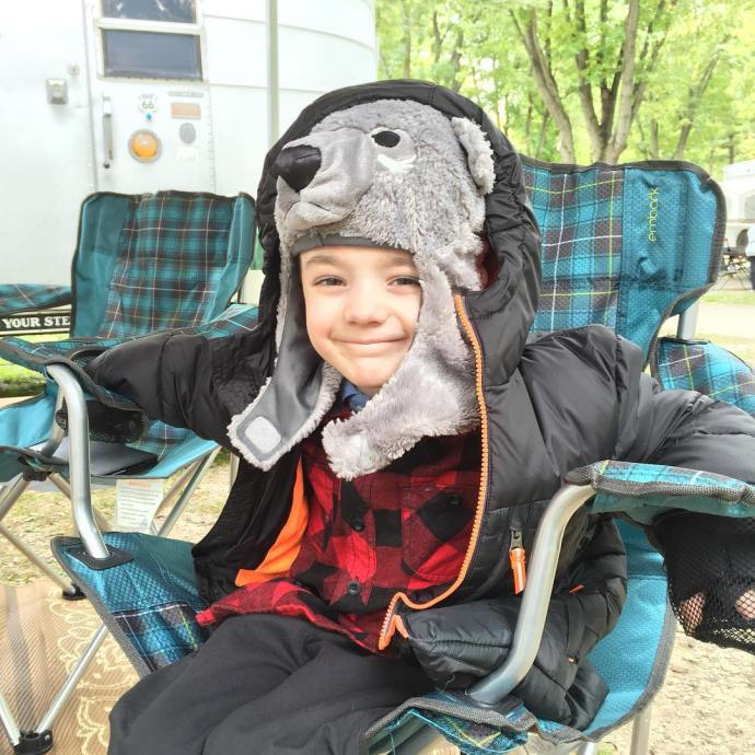 This boy loves to camp with his family sohappy lifewithboyshellip