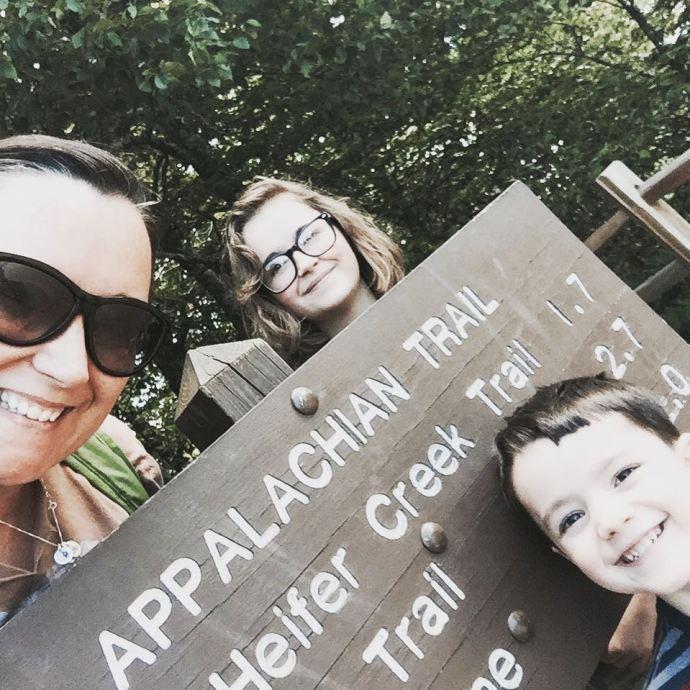 Summer road trip  day hike on the Appalachian Trailhellip