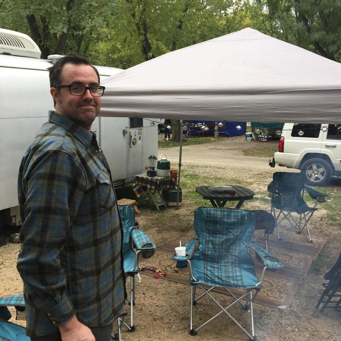Last camping trip of the year Target madforplaid VintageTinTrailer vintagestylehellip