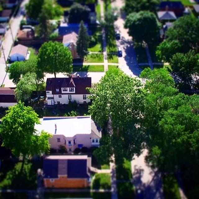 Our little farmhouse in Brookfield 1897farmhouse tiltshift dronestagram dronephotography dronephotohellip