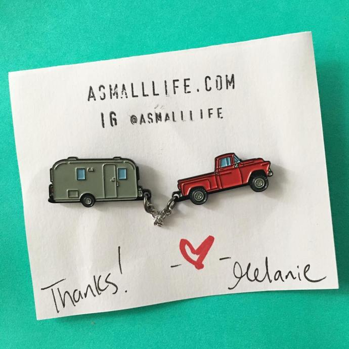 My vintagetrailer pin came from asmalllife! I adore it Ithellip