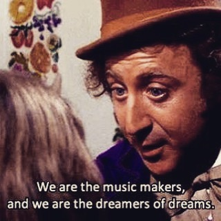 Thank you sir genewilder restinpeace