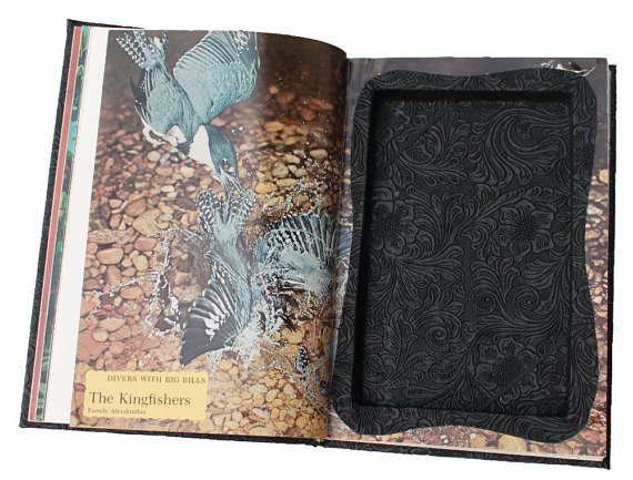 Kindle Fire Cover created from Discarded Book Case by ReAuthored