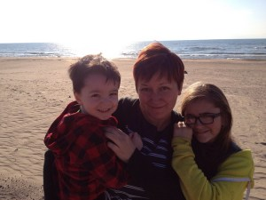 Mother's Day vintage camping at Warren Dunes, Michigan