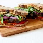 The perfect vegan sandwich