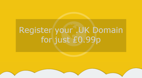 .UK Domains just 99p