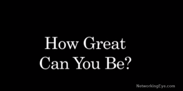 How great can you be