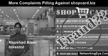 more complaints pilling against shopcard.biz
