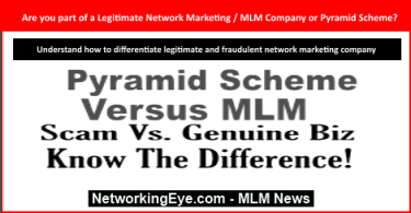 Are you part of a Legitimate Network Marketing MLM Company or Pyramid Scheme