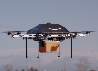 Die Amazon Prime Air Drohne