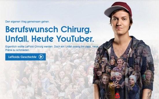 Wie YouTuber Geld verdienen: LeFloid als Testimonial