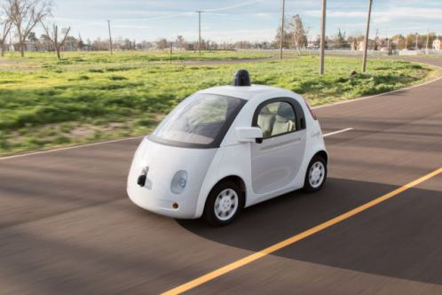 Alphabet Google Self Driving Car