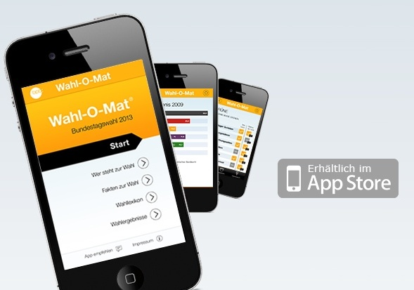 Wahl-O-Mat im App Store