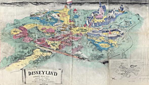 Disneyland Map