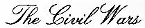 The Civil Wars logotype