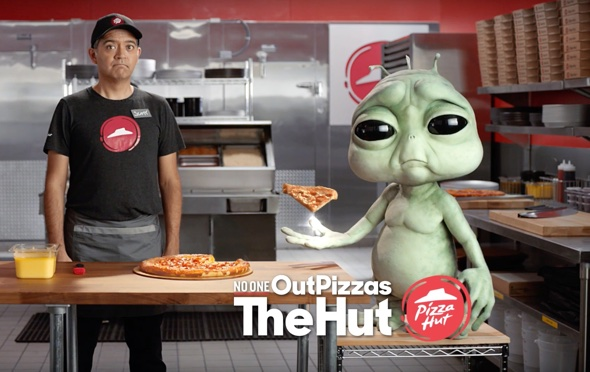 No one out pizzas the Hu