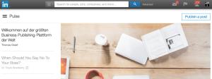 Größer als Medium & Twitter: Blogging-/Publishing-Plattform von LinkedIn jetzt auch in Deutschland verfügbar