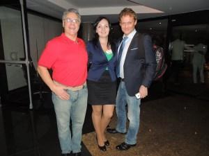 with Prof. Leon Zurawicki and Rafal Ohme