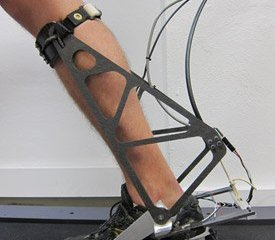 This is the robotic ankle.