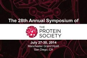 protein society event logo