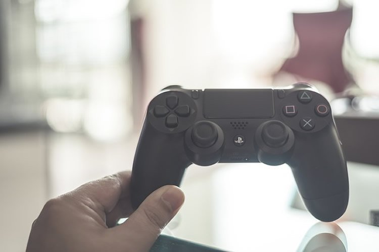 Image shows a video game controller.