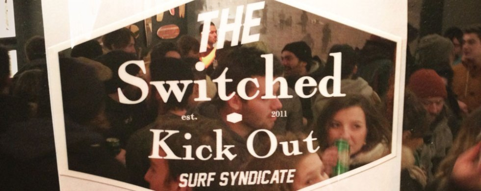 Vernissage Bvrn The Road de Woodiart et du Switched Kick Out Surf Syndicate