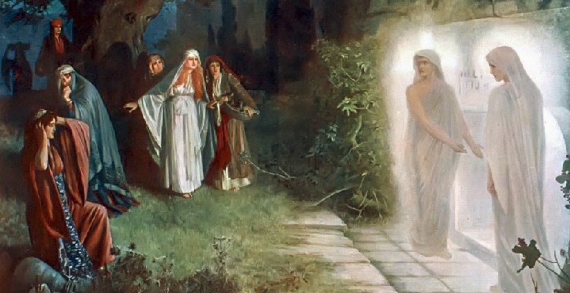 Jesus Returned To Life