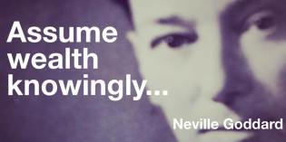 Feel It Real Neville Goddard Quotes