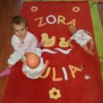 Zora Júlia ls a kacsák :-)