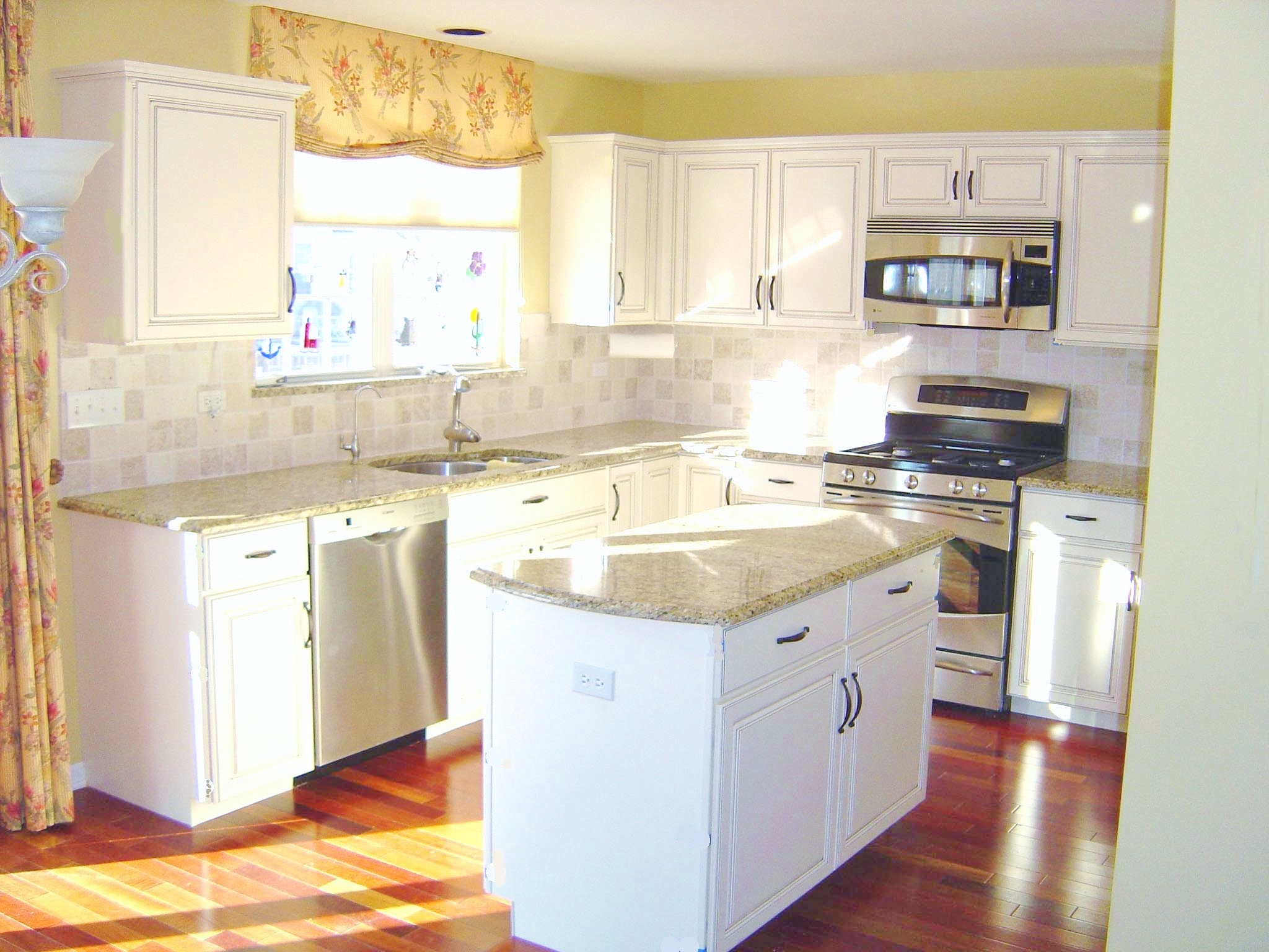 mixing old cabinets new reface kitchen cabinets Copy