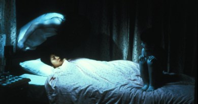 Ju-on The Grudge ghosts around bed