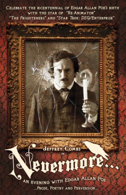 Jeffrey Combs as poe in NEVERMORE