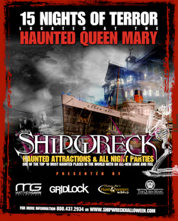 Haunted Queen Mary