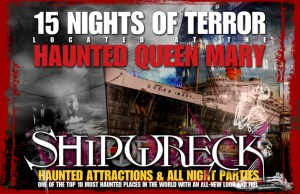 Haunted Queen Mary 2009 poster