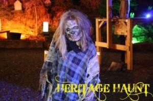 Heritage Haunt ghoul