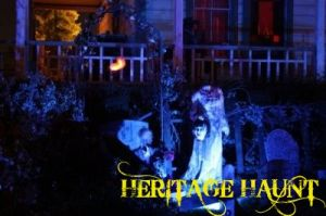 Heritage Haunt cemetery outside Newhall Ranch House