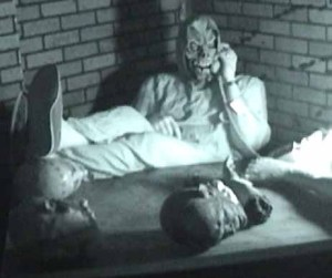 A demented demon takes a call