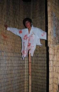 Revenge of the Ninja bisected body