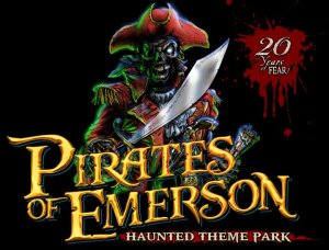 Pirates of Emerson 20 year logo