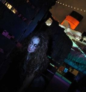 A she-demon haunts the Barricades near the Queen Mary